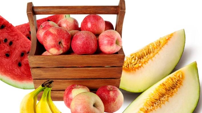 receta con frutas variadas para perros