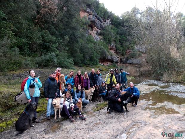 Excursión con Clase de Educación Canina 11.2.18 con Zen Wolf