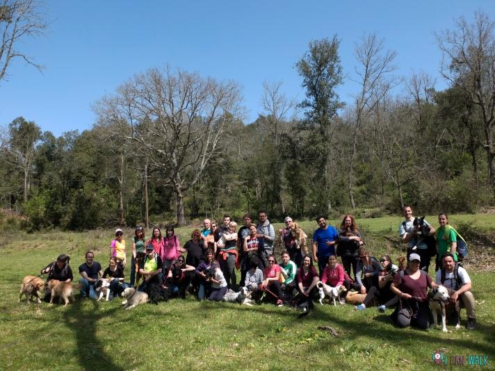Excursión con Clase de Educación Canina con Kipeek, 15.4.18
