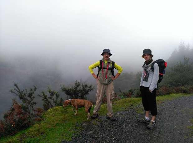 Camino con perros: Segunda etapa subiendo el Puerto de Otsondo Lola