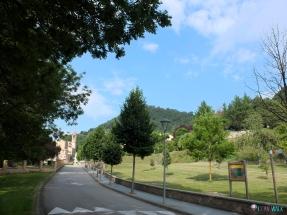 Carretera de Ciuret, zona con picnic