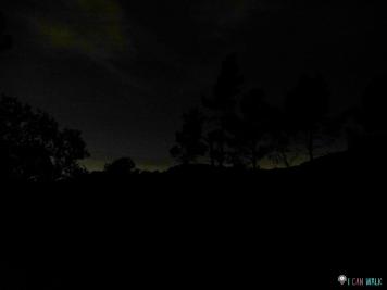 ya de noche