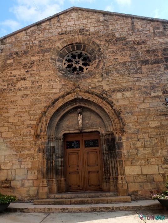 paseo por Isona, Iglesia parroquial de Santa María