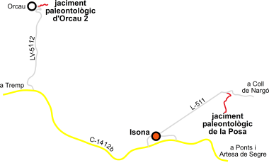 Mapa orientativo