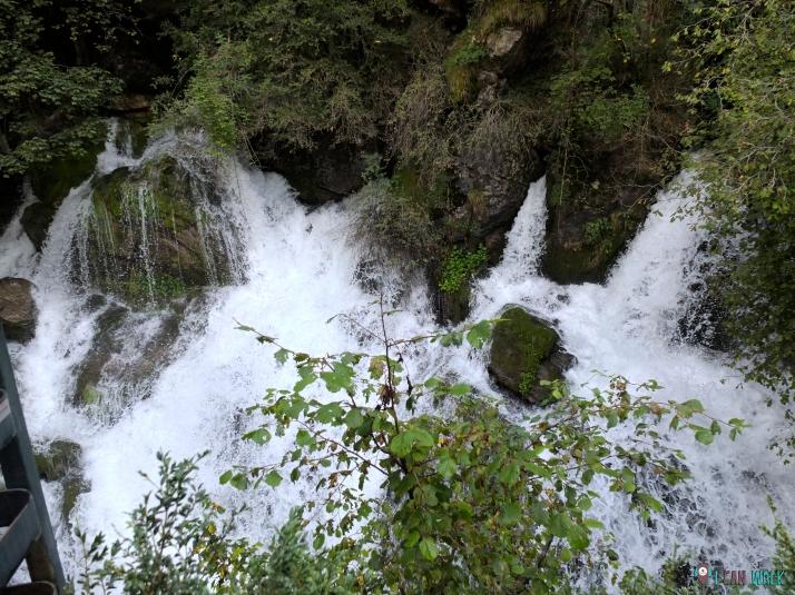 de ruta, saltos de agua de les Fonts del Llobregat