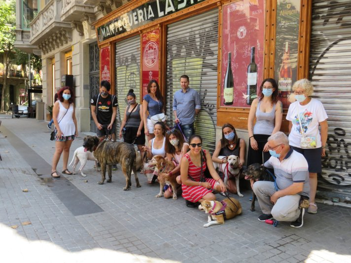 degustaciones con perros en grupo, ocio petfriendly