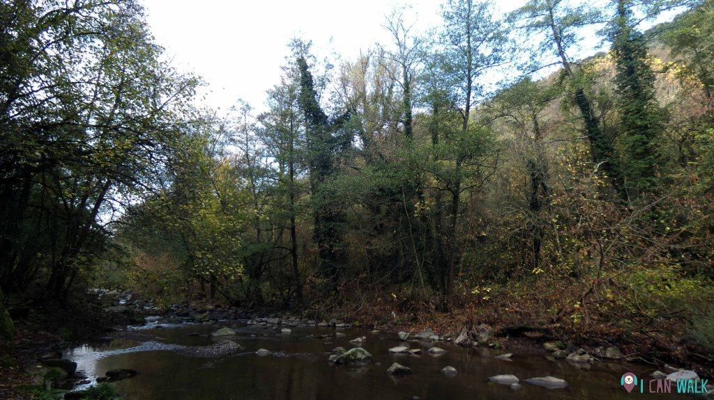 llegamos al río