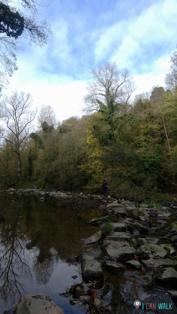 parte del tramo que cruza el río